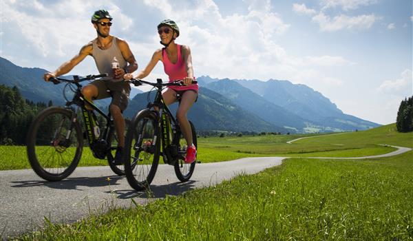 Radsommer im Kaiserwinkl Tirol