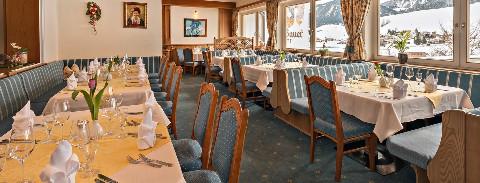 Speisesaal Hotel Wildauerhof