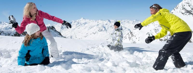 Familienurlaub im Winter in Walchsee