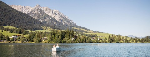 Walchsee im Sommer Hotel Wildauerhof