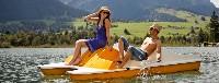 Trettboot fahren  Hotel Wildauerhof